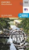 ORDNANCE SURVEY - Oxford, Witney and Woodstock (OS Explorer Active Map) - 9780319470527 - V9780319470527