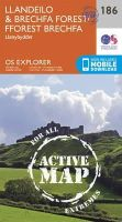 ORDNANCE SURVEY - Llandeilo and Brechfa Forest (OS Explorer Active Map) - 9780319470589 - V9780319470589