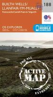 Ordnance Survey - Builth Wells, Painscastle and Talgarth (OS Explorer Active Map) - 9780319470602 - V9780319470602
