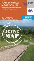 Ordnance Survey - Malvern Hills and Bredon Hill (OS Explorer Active Map) - 9780319470626 - V9780319470626