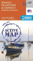 Ordnance Survey - Ipswich, Felixstowe and Harwich (OS Explorer Active Map) - 9780319470695 - V9780319470695
