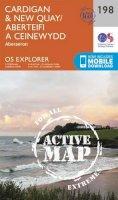 Ordnance Survey - Cardigan and New Quay, Aberaeron (OS Explorer Active Map) - 9780319470701 - V9780319470701