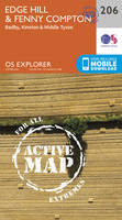 Ordnance Survey - Edge Hill and Fenny Compton (OS Explorer Active Map) - 9780319470787 - V9780319470787