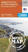 Ordnance Survey - Aberystwyth and Cwm Rheidol (OS Explorer Active Map) - 9780319470855 - V9780319470855
