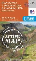 Ordnance Survey - Newtown, Llanfair Caereinion (OS Explorer Active Map) - 9780319470879 - V9780319470879