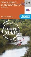 Ordnance Survey - Kidderminster and Wyre Forest (OS Explorer Active Map) - 9780319470909 - V9780319470909