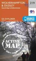 Ordnance Survey - Wolverhampton and Dudley, Stourbridge and Kidderminster (OS Explorer Active Map) - 9780319470916 - V9780319470916