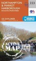 Ordnance Survey - Northampton and Market Harborough (OS Explorer Active Map) - 9780319470954 - V9780319470954