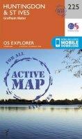Ordnance Survey - Huntingdon and St.Ives, Grafham Water (OS Explorer Active Map) - 9780319470978 - V9780319470978