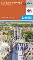 Ordnance Survey - Ely and Newmarket, Mildenhall and Soham (OS Explorer Active Map) - 9780319470985 - V9780319470985