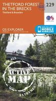 Ordnance Survey - Thetford Forest in the Brecks (OS Explorer Active Map) - 9780319471012 - V9780319471012