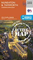 Ordnance Survey - Nuneaton and Tamworth (OS Explorer Active Map) - 9780319471043 - V9780319471043