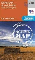 Ordnance Survey - East Dereham and Aylsham (OS Explorer Active Map) - 9780319471104 - V9780319471104