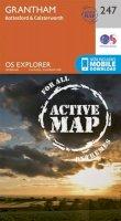 ORDNANCE SURVEY - Grantham (OS Explorer Active Map) - 9780319471197 - V9780319471197