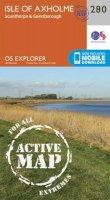 Ordnance Survey - Isle of Axholme, Scunthorpe and Gainsborough (OS Explorer Active Map) - 9780319471524 - V9780319471524