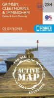 Ordnance Survey - Grimsby, Cleethorpes and Immingham, Caistor and North Thoresby (OS Explorer Active Map) - 9780319471562 - V9780319471562