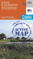ORDNANCE SURVEY - Goole and Gilberdyke (OS Explorer Active Map) - 9780319471630 - V9780319471630