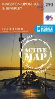 Ordnance Survey - Kingston-Upon-Hull and Beverley (OS Explorer Active Map) - 9780319471654 - V9780319471654