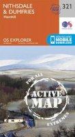 ORDNANCE SURVEY - Nithsdale and Dumfries (OS Explorer Active Map) - 9780319471937 - V9780319471937