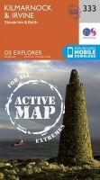 Ordnance Survey - Kilmarnock and Irvine (OS Explorer Active Map) - 9780319472057 - V9780319472057