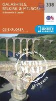 ORDNANCE SURVEY - Galashiels, Selkirk and Melrose (OS Explorer Active Map) - 9780319472101 - V9780319472101