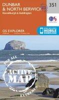 Ordnance Survey - Dunbar and North Berwick (OS Explorer Active Map) - 9780319472224 - V9780319472224