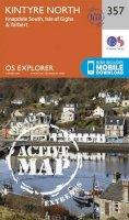 Ordnance Survey - Kintyre North (OS Explorer Active Map) - 9780319472286 - V9780319472286