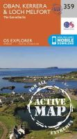 Ordnance Survey - Oban, Kerrera and Loch Melfort (OS Explorer Active Map) - 9780319472309 - V9780319472309