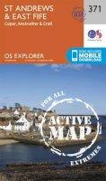 Ordnance Survey - St Andrews and East Fife (OS Explorer Active Map) - 9780319472385 - V9780319472385