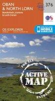 ORDNANCE SURVEY - Oban and North Lorn (OS Explorer Active Map) - 9780319472439 - V9780319472439