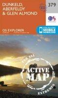ORDNANCE SURVEY - Dunkeld, Aberfeldy and Glen Almond (OS Explorer Active Map) - 9780319472453 - V9780319472453