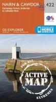 Ordnance Survey - Nairn and Cawdor (OS Explorer Active Map) - 9780319472743 - V9780319472743