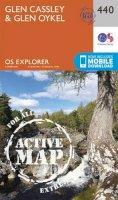 Ordnance Survey - Glen Cassley and Glen Oykel (OS Explorer Active Map) - 9780319472927 - V9780319472927