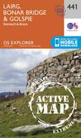 Ordnance Survey - Lairg, Bonar Bridge and Golspie (OS Explorer Active Map) - 9780319472934 - V9780319472934
