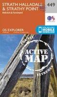 ORDNANCE SURVEY - Strath Halladale and Strathy Point (OS Explorer Active Map) - 9780319473016 - V9780319473016