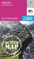 ORDNANCE SURVEY - Orkney - Southern Isles (OS Landranger Active Map) - 9780319473306 - V9780319473306