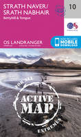 Ordnance Survey - Strathnaver, Bettyhill & Tongue (OS Landranger Active Map) - 9780319473337 - V9780319473337