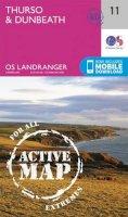 Ordnance Survey - Thurso & Dunbeath (OS Landranger Active Map) - 9780319473344 - V9780319473344