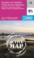 ORDNANCE SURVEY - Sound of Harris, North Uist, Taransay & St Kilda (OS Landranger Active Map) - 9780319473412 - V9780319473412
