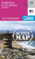 Ordnance Survey - Gairloch & Ullapool, Loch Maree (OS Landranger Active Map) - 9780319473429 - V9780319473429