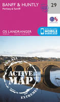 Ordnance Survey - Banff & Huntly, Portsoy & Turriff (OS Landranger Active Map) - 9780319473528 - V9780319473528