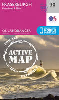 Ordnance Survey - Fraserburgh, Peterhead & Ellon (OS Landranger Active Map) - 9780319473535 - V9780319473535