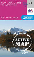 Ordnance Survey - Fort Augustus, Glen Roy & Glen Moriston (OS Landranger Active Map) - 9780319473573 - V9780319473573