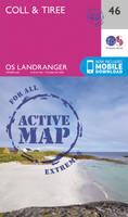 Ordnance Survey - Coll & Tiree (OS Landranger Active Map) - 9780319473696 - V9780319473696