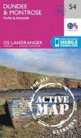 Ordnance Survey - Dundee & Montrose, Forfar & Arbroath (OS Landranger Active Map) - 9780319473771 - V9780319473771