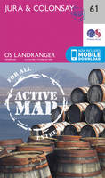 Ordnance Survey - Jura & Colonsay (OS Landranger Active Map) - 9780319473849 - V9780319473849