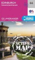 Ordnance Survey - Edinburgh, Penicuik & North Berwick (OS Landranger Active Map) - 9780319473894 - V9780319473894