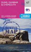 Ordnance Survey - Duns, Dunbar & Eyemouth (OS Landranger Active Map) - 9780319473900 - V9780319473900