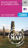 Ordnance Survey - South Kintyre & Campbeltown (OS Landranger Active Map) - 9780319473917 - V9780319473917