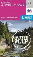 Ordnance Survey - Lanark & Upper Nithsdale (OS Landranger Active Map) - 9780319473948 - V9780319473948